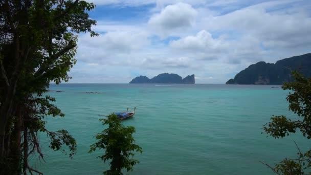Blick auf Koh Phi Phi Insel von Phi Phi
