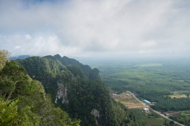 View of The Tiger Cave Temple, Krabi