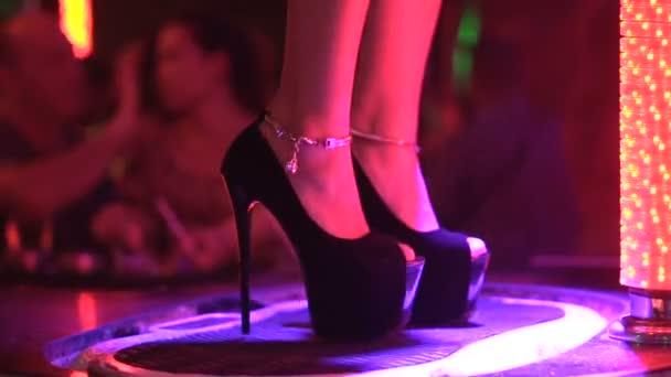 Girl dance gogo in nightclub