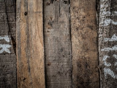 Rustic old weathered wood background horizontal view