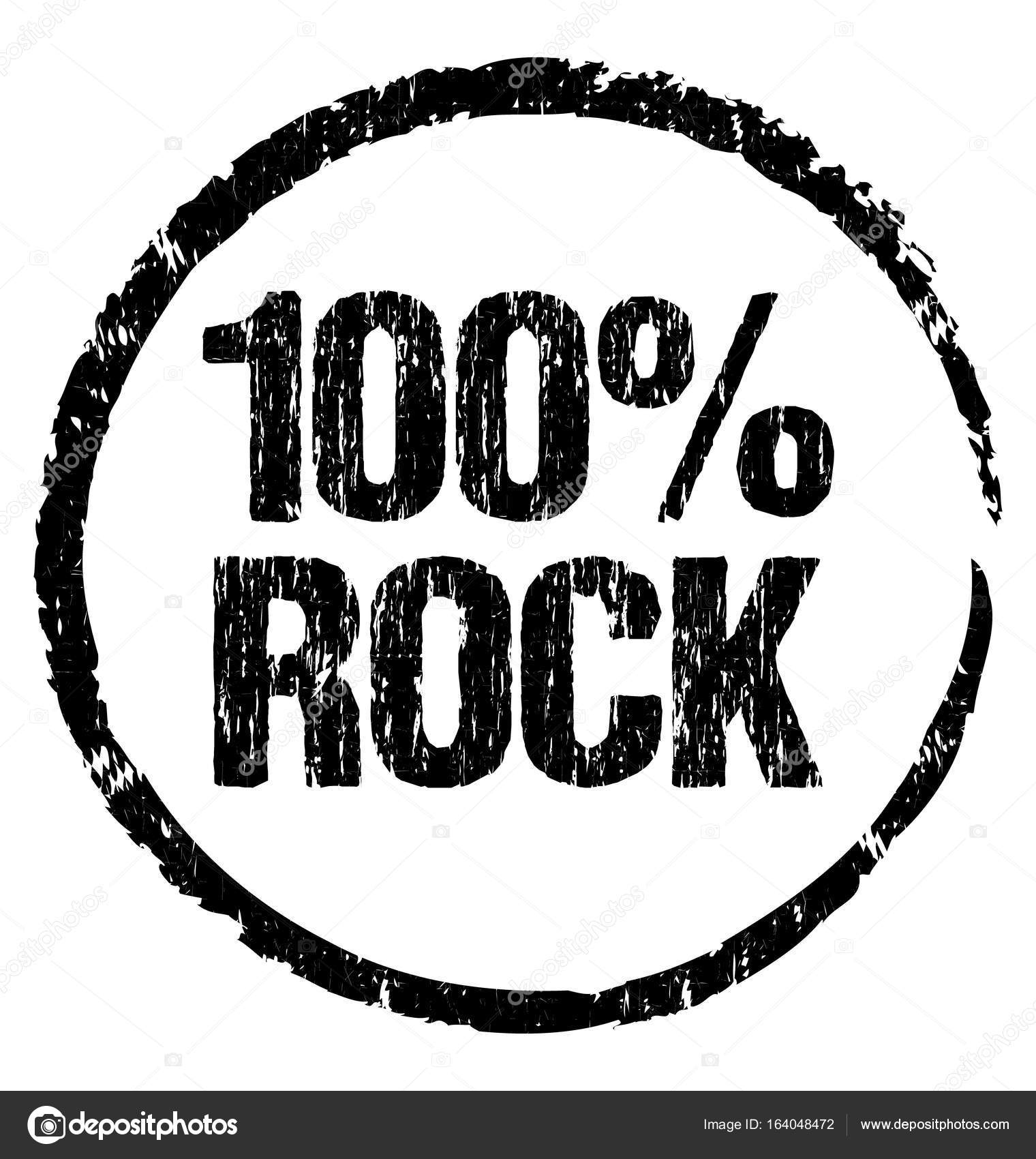 100 rock grunge symbol ready to stamp on any marketing object 100 rock grunge symbol ready to stamp on any marketing object stock buycottarizona Image collections