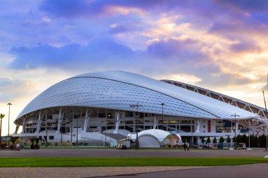 Fisht Olympic stadium in Sochi, Adler, Russia