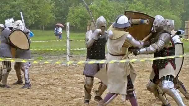Ritterturnier im Mittelalter Kultur Festival