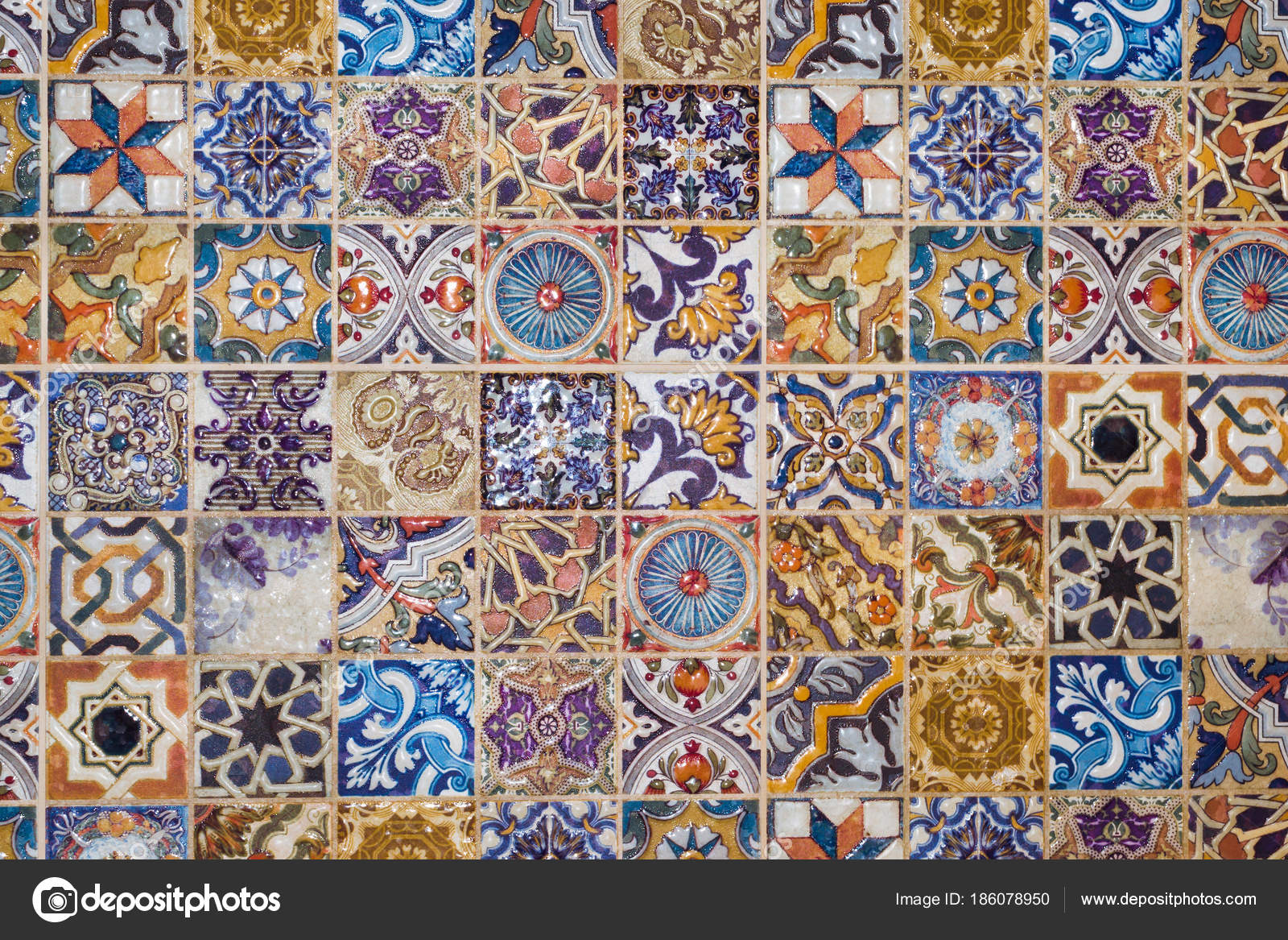 Traditional european ceramic mosaic tile pattern stock photo checkered traditional european ceramic mosaic tile background pattern architectural mosaic detail abstract background for street bath and pool dailygadgetfo Image collections
