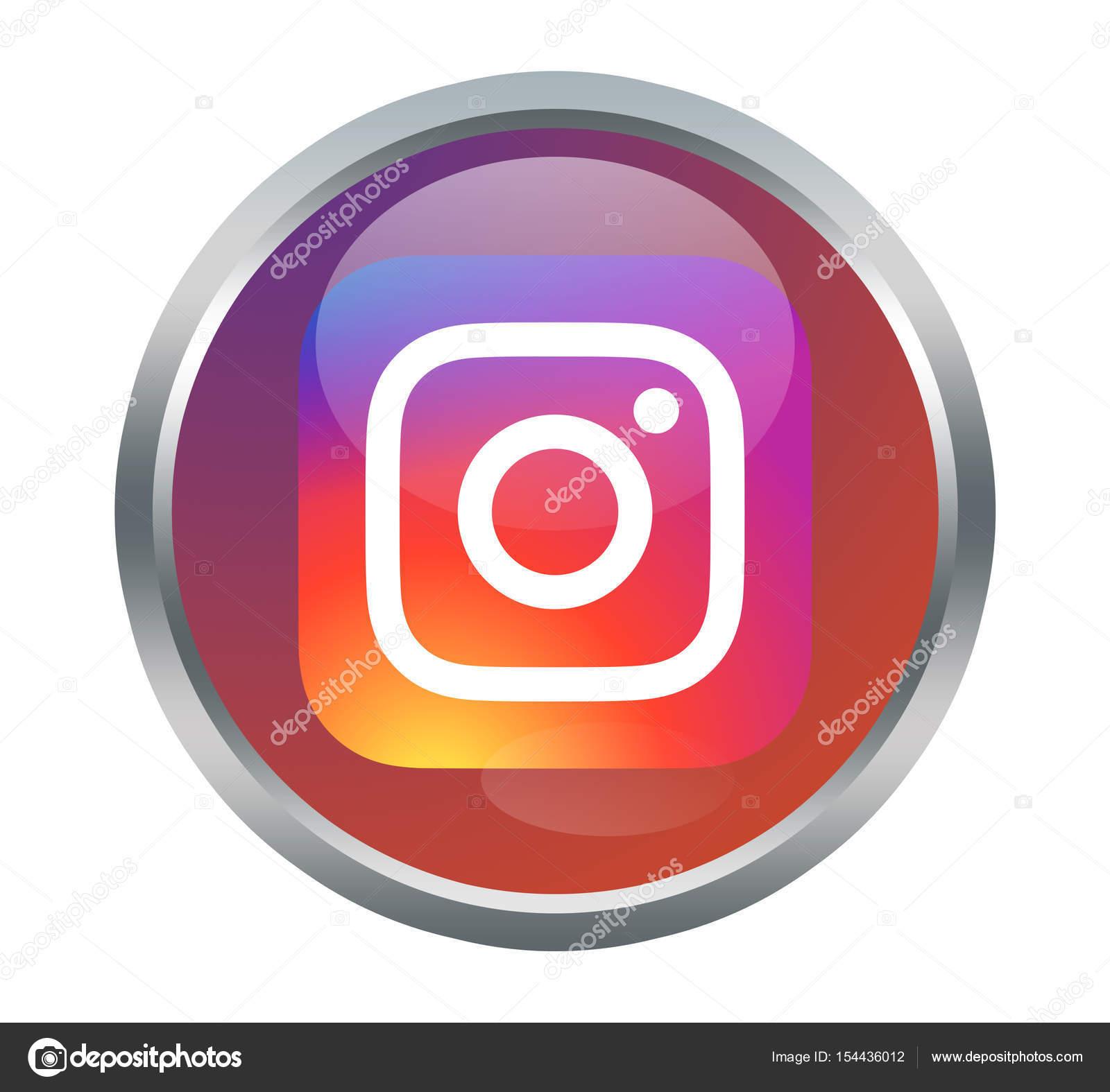 Instagram App Sign Stock Editorial Photo Fitimi 154436012