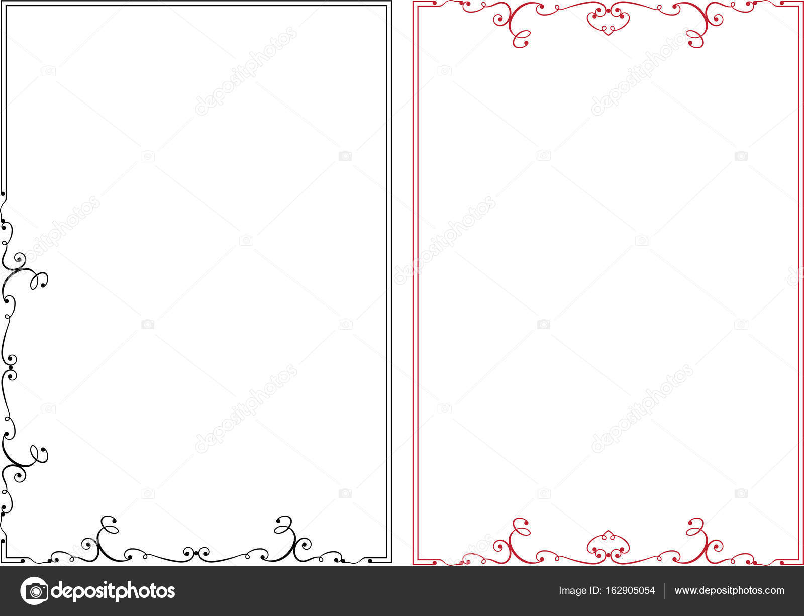 frame border design. Frame Border Design \u2014 Stock Vector