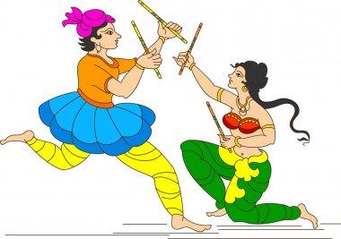Garba Indian Dance