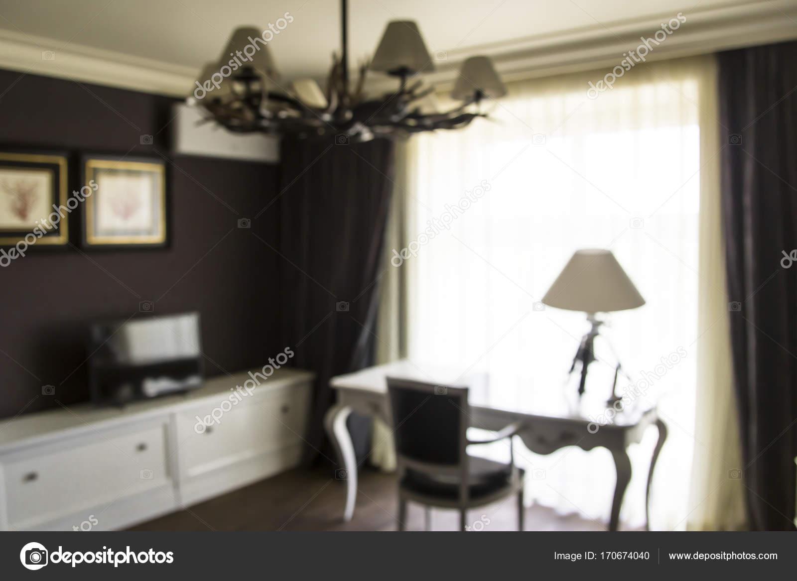 Concept dintérieur moderne les meubles dune étude ou dun poste