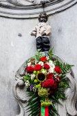 Slavná socha chcaní chlapce, Brusel, Belgie