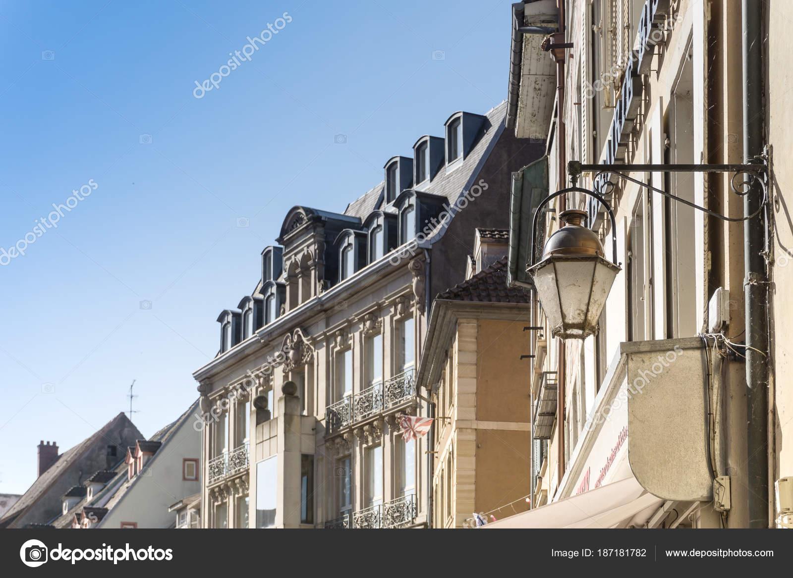 Mulhouse Frankreich mulhouse frankreich juni 2017 streetview der innenstadt der stadt