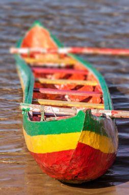 Rastafari outrigger canoe