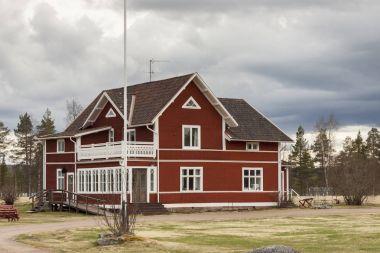 Halsingegard tarihi köy - İsveç