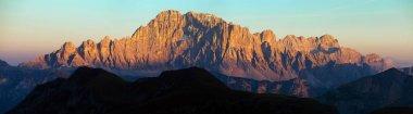 mount Civetta, South Tirol, dolomites mountains, Italy