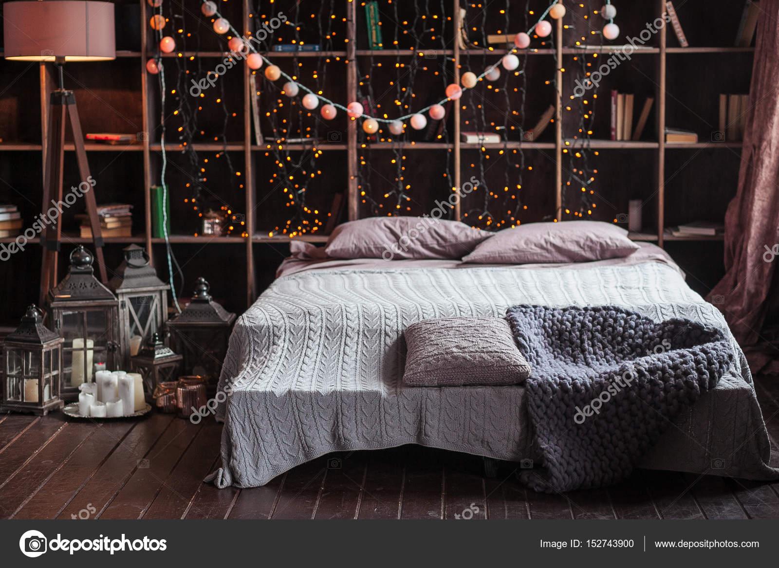 Gemutlichkeit Komfort Innenraum Und Feiertagen Konzept