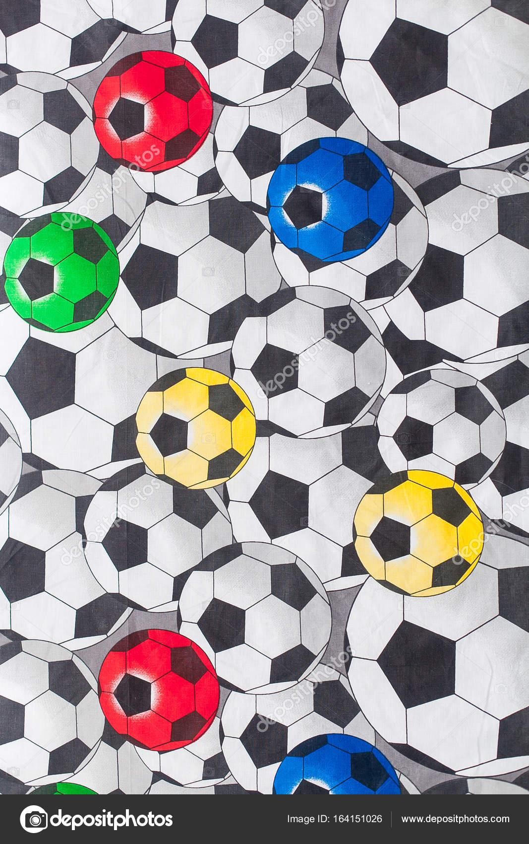 bo ho moda estilo tela bola de futebol impressão stock photo