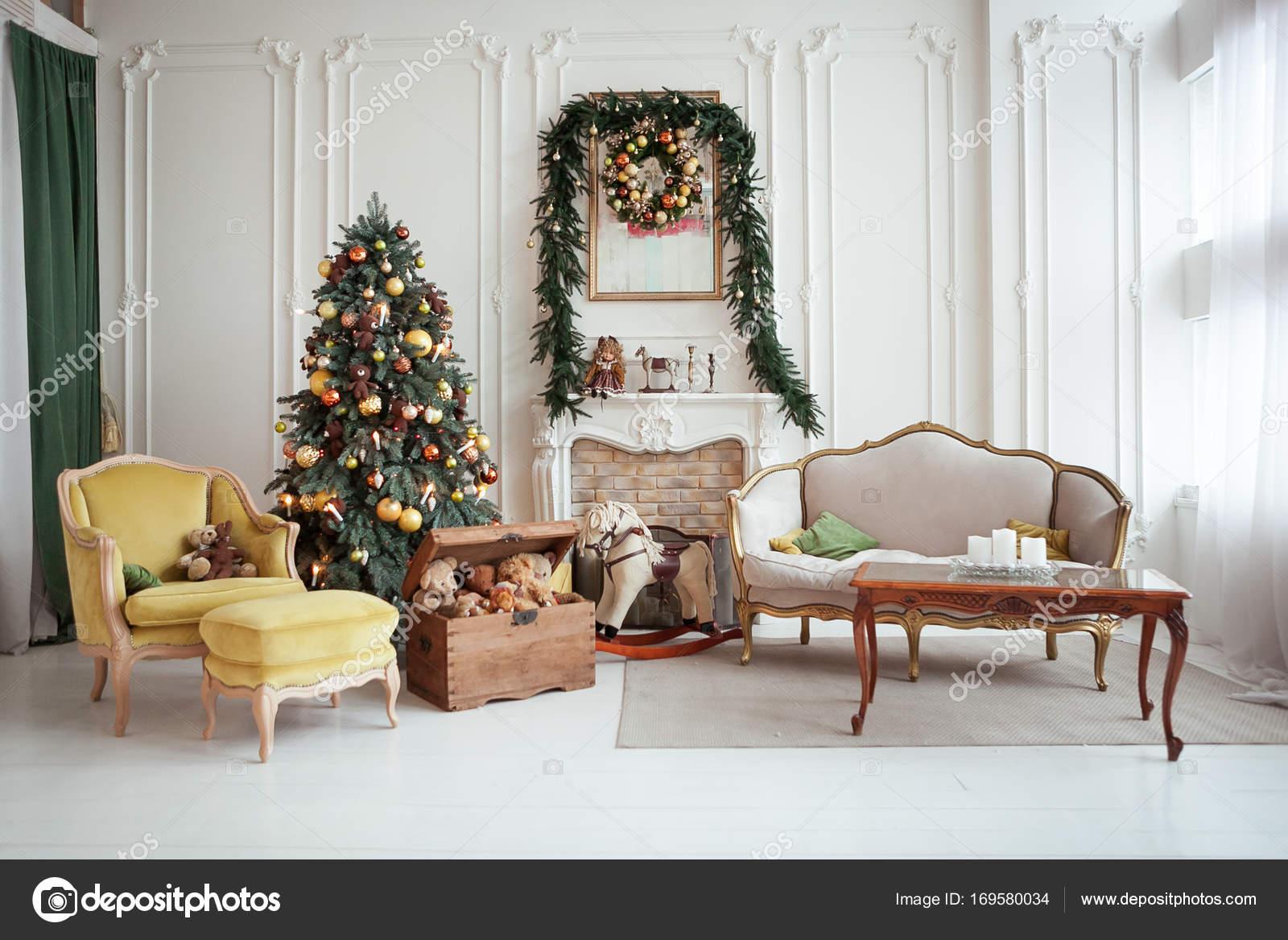 Dekoration Für Wohnzimmer | Schone Weihnachten Interieur Silvester Dekoration Wohnzimmer Mit