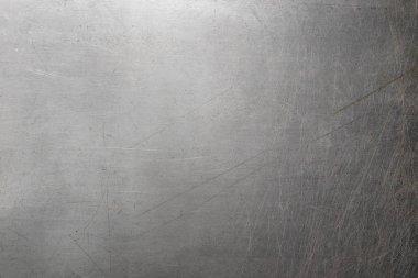 Polish metal texture, steel background