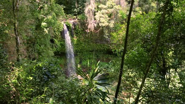 Malý vodopád v Amberu národního parku