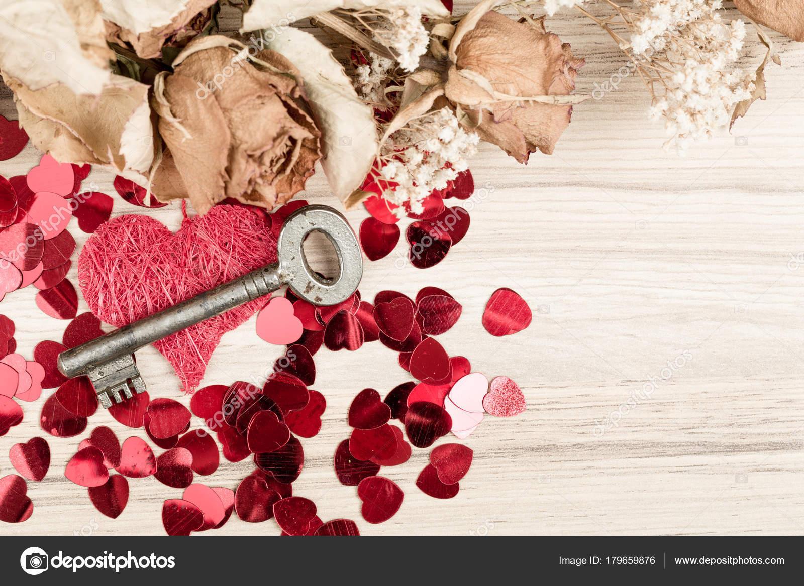 Love Key To My Heart Symbol Of Love Stock Photo Artush 179659876