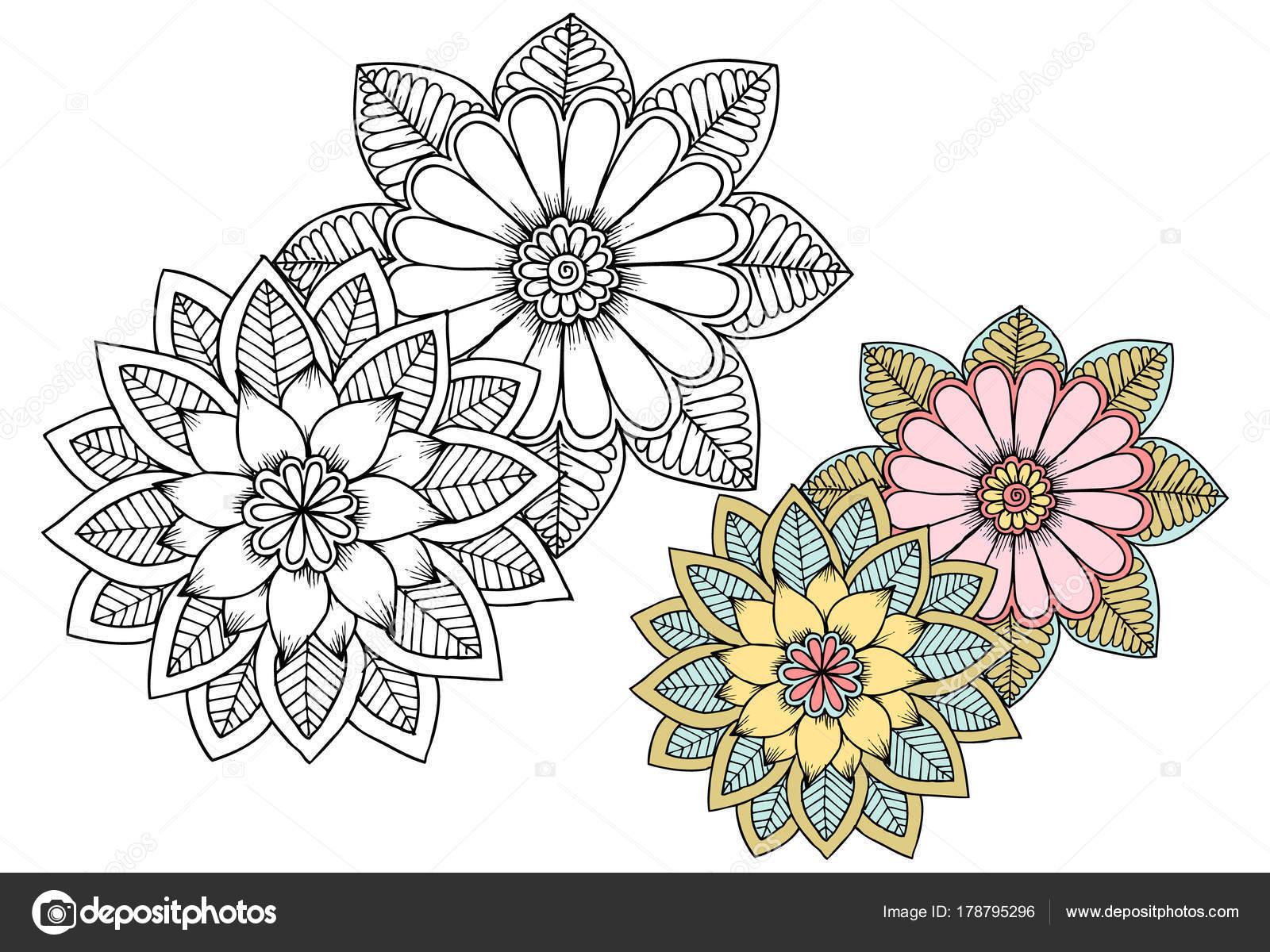 Imagenes Flores Para Imprimir En Blanco Y Negro Flores Blanco Y