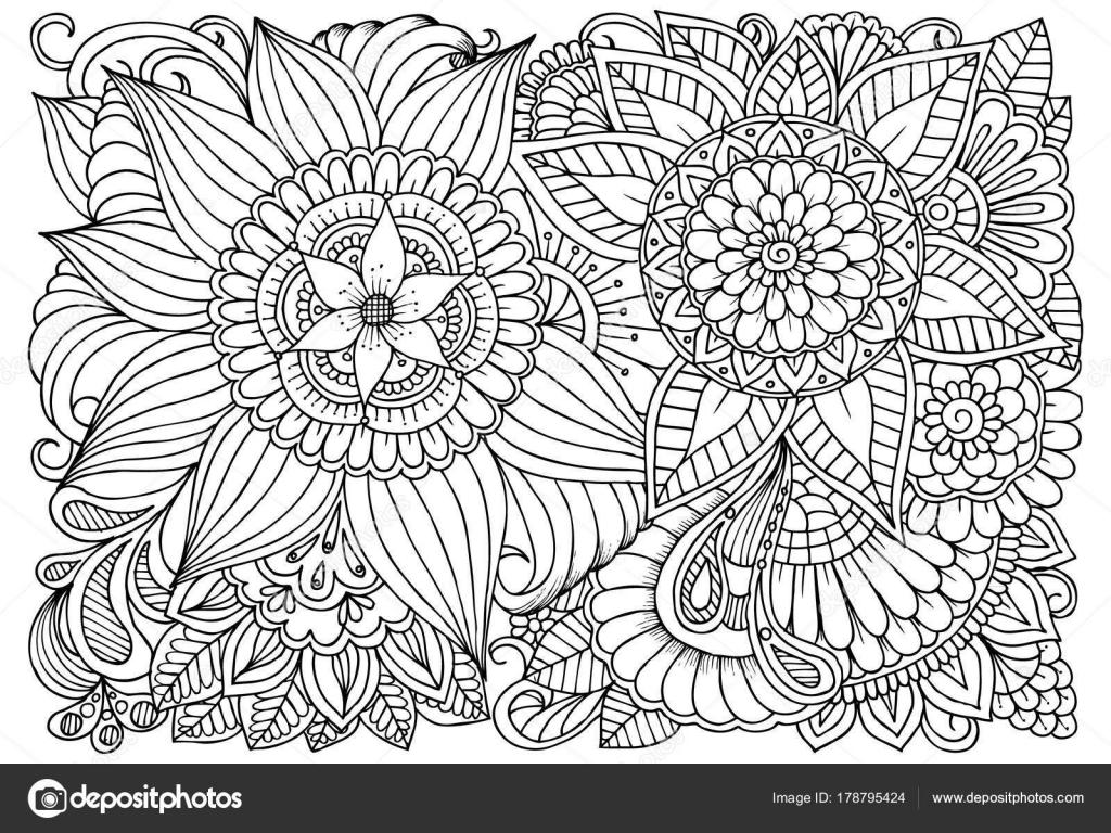 Dibujos Flores En Blanco Y Negro Para Imprimir Blanco Y Negro