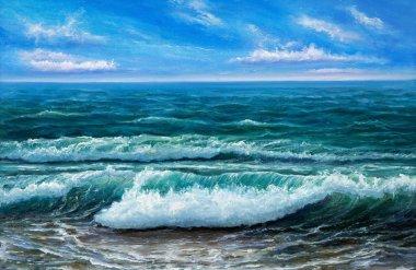 An Ocean shore