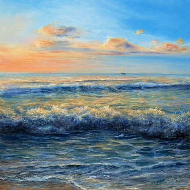 An Ocean waves