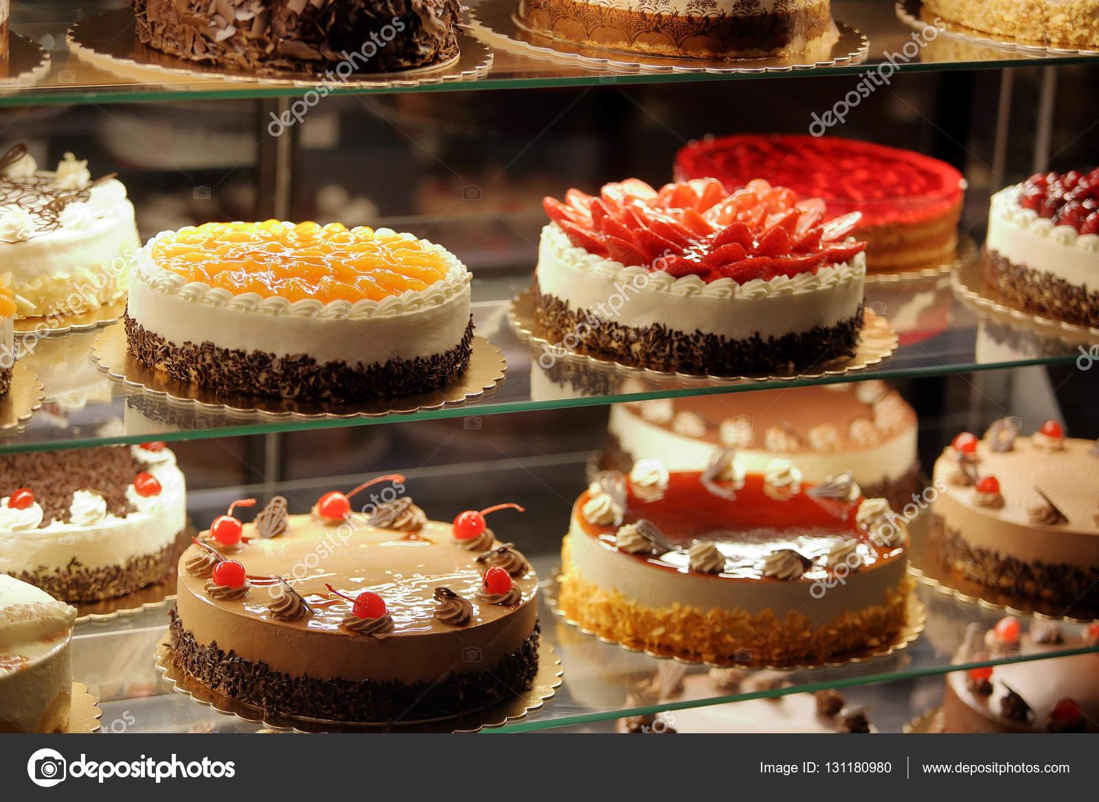 Different Cake Displays