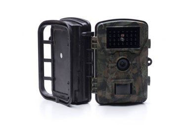 camouflage photo trapping camera, quality for photographing wild animals or for security