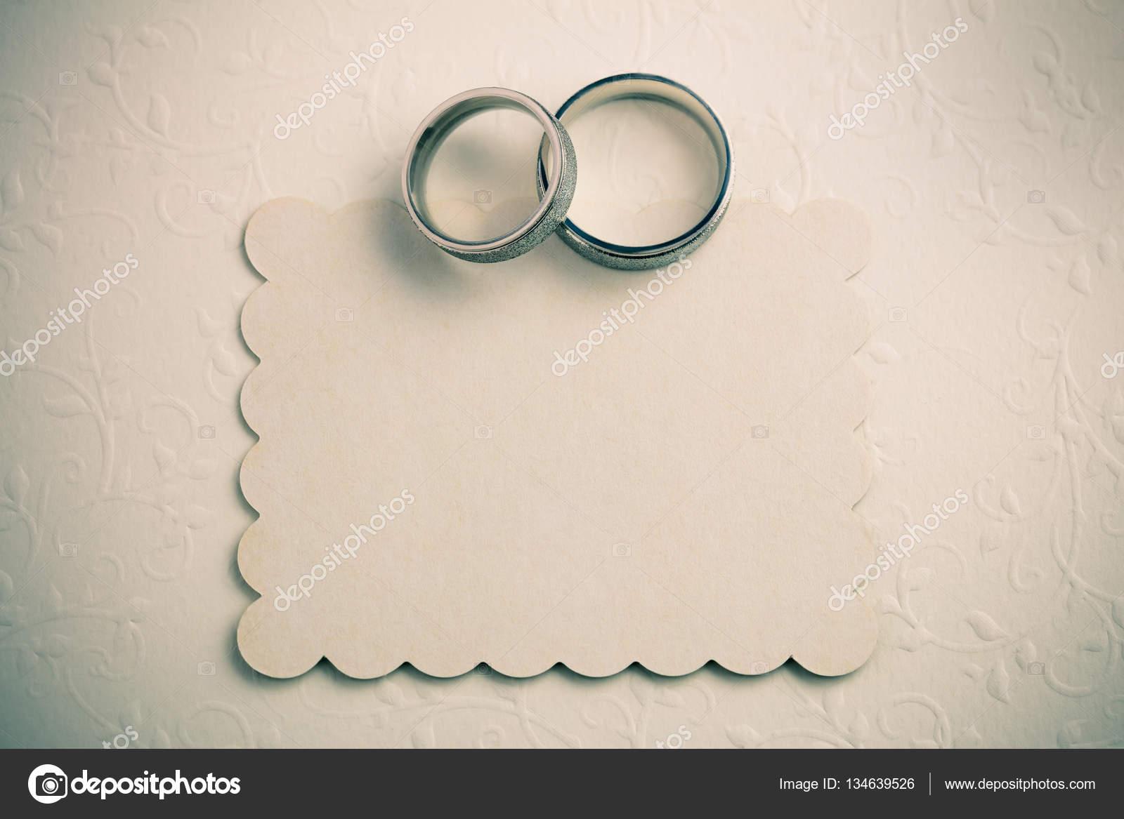 Vintage Wedding Background Invite Card Design Stock