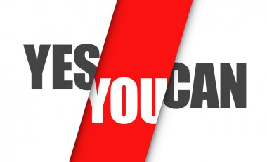 Yes you can positive message red