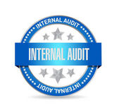 Fotografie Internal Audit seal sign concept illustration