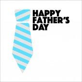 Happy Den otců tie znamení ilustrace design