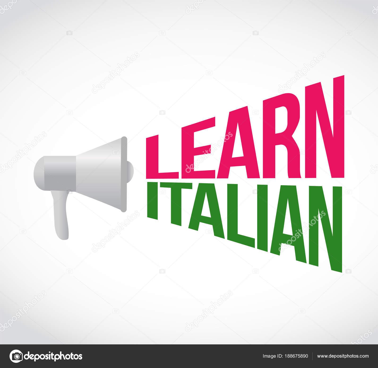 message in italian
