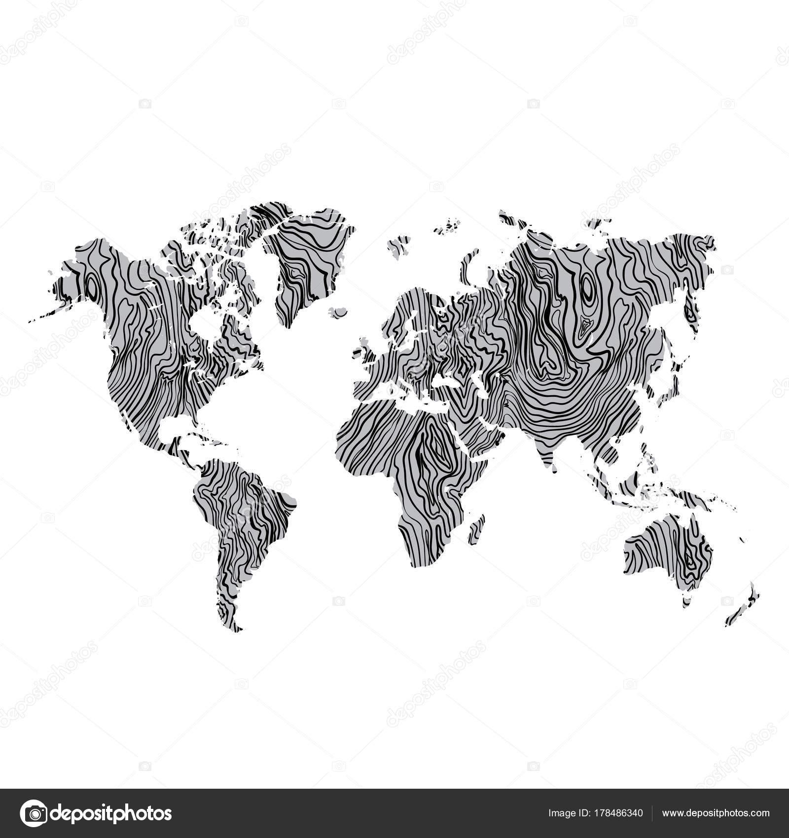 Textura de madera mapamundi gris mano negro dibujado sobre fondo textura de madera mapamundi gris mano negro dibujado sobre fondo vector de archivo imgenes gumiabroncs Choice Image
