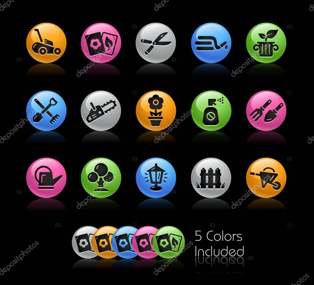 Gardening Icon set - Gelcolor Series