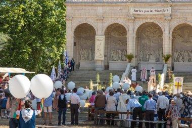 Pontchateau, France - September 11, 2016: Celebration of 300 ann