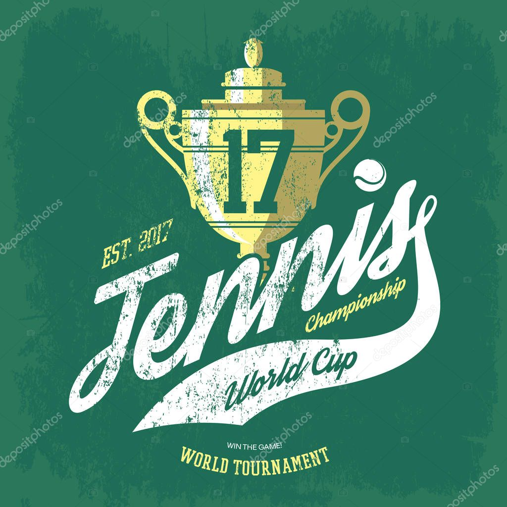 Tennis Cup Or Trophy And Flying Ball Banner For T Shirt Or Sportswear Shirt Gear Tournament Tennis Team Print Ideal For Tennis Team Logo Or Sport Club Or Center Badge Athletic Sportswear,Short Diamond Mangalsutra Designs Latest
