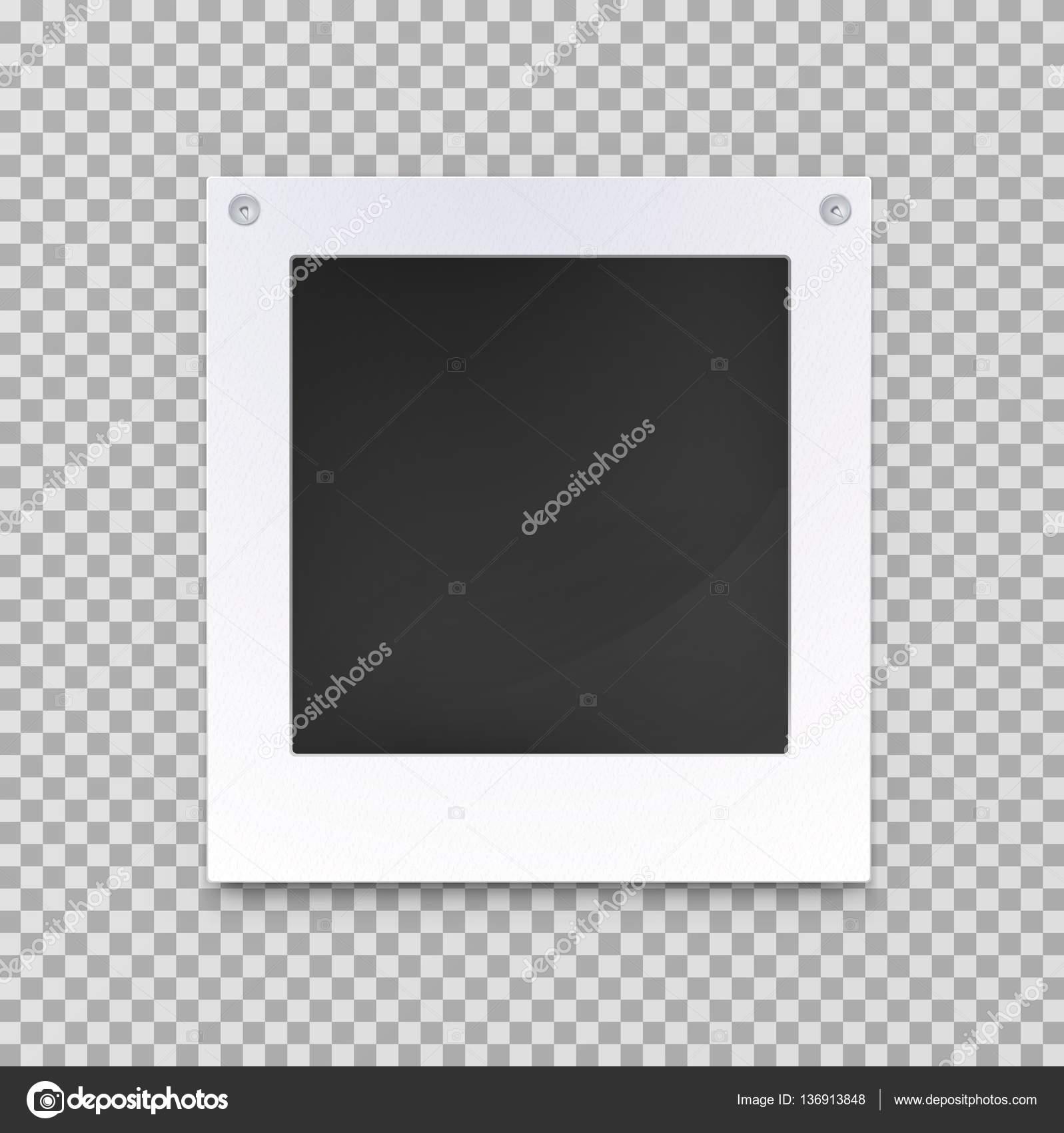 Alte leere Foto Bild Rahmen, leeres Bild — Stockvektor © cookamoto ...