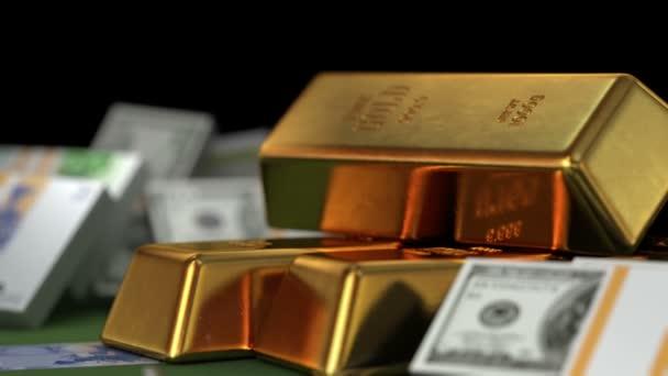 Bitmince, peníze, zlato a diamanty, nádherná 3D animace
