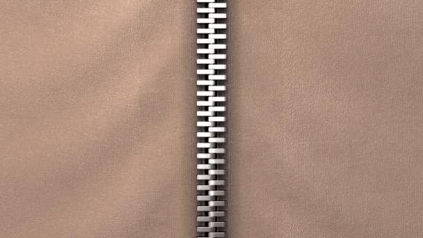 Rozepínací zip, možnost tkaniny. Animace 3D, 4k