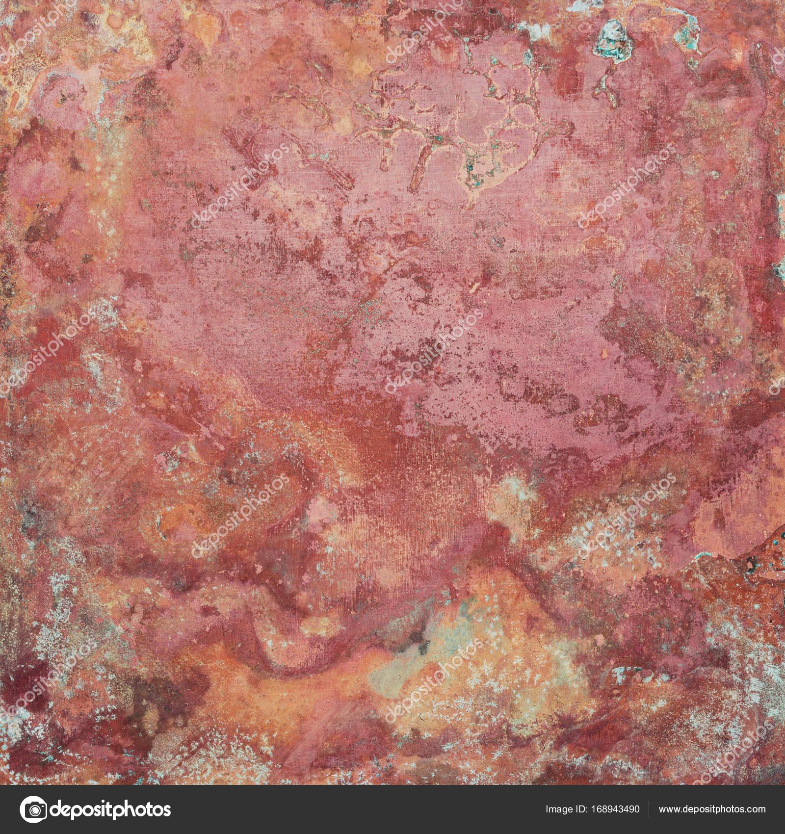 Kupfer Grüne Patina alte kupfer textur stockfoto tuja66 168943490