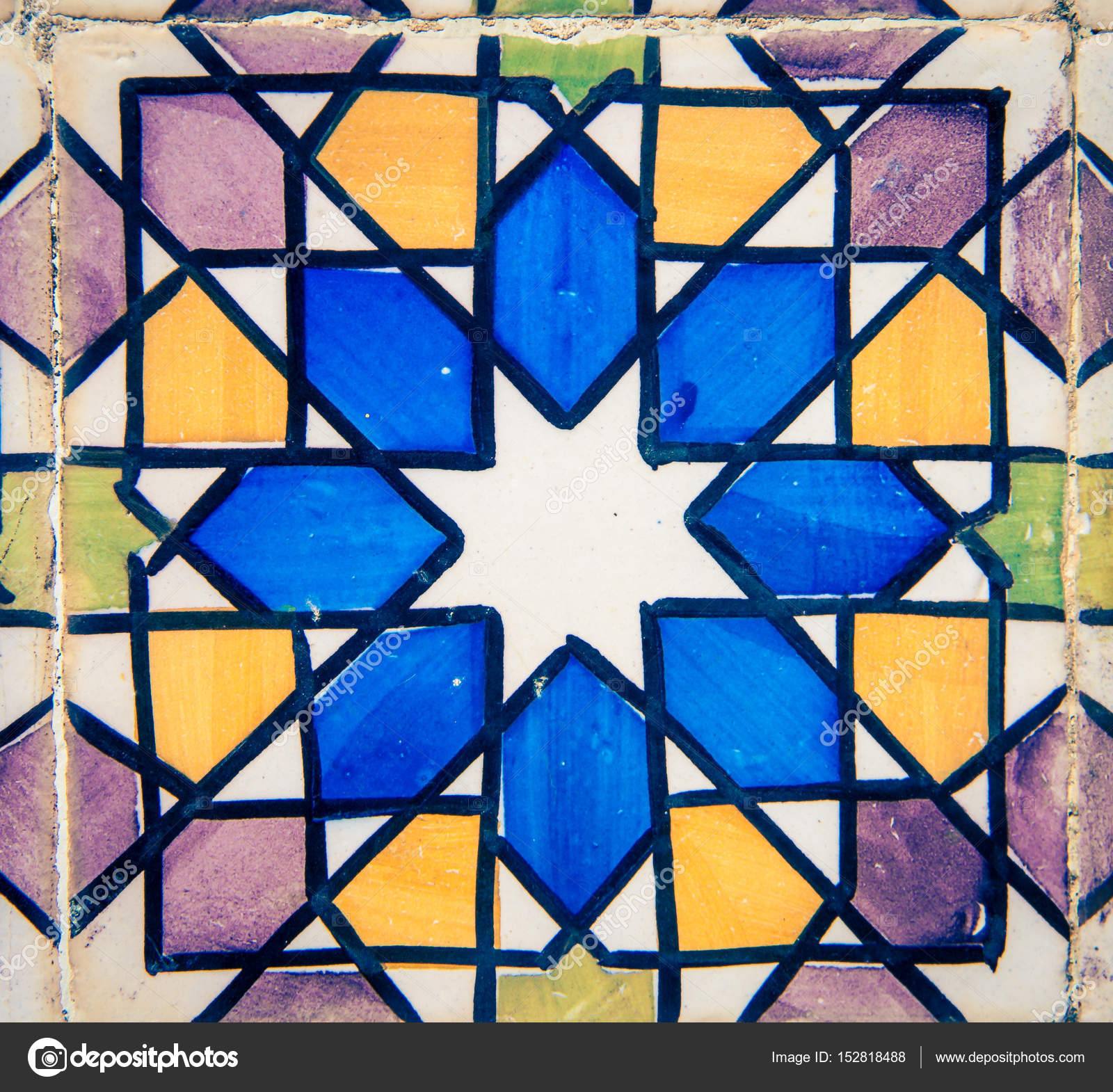 colorful ceramic tiles sintra — Stock Photo © rusty426 #152818488