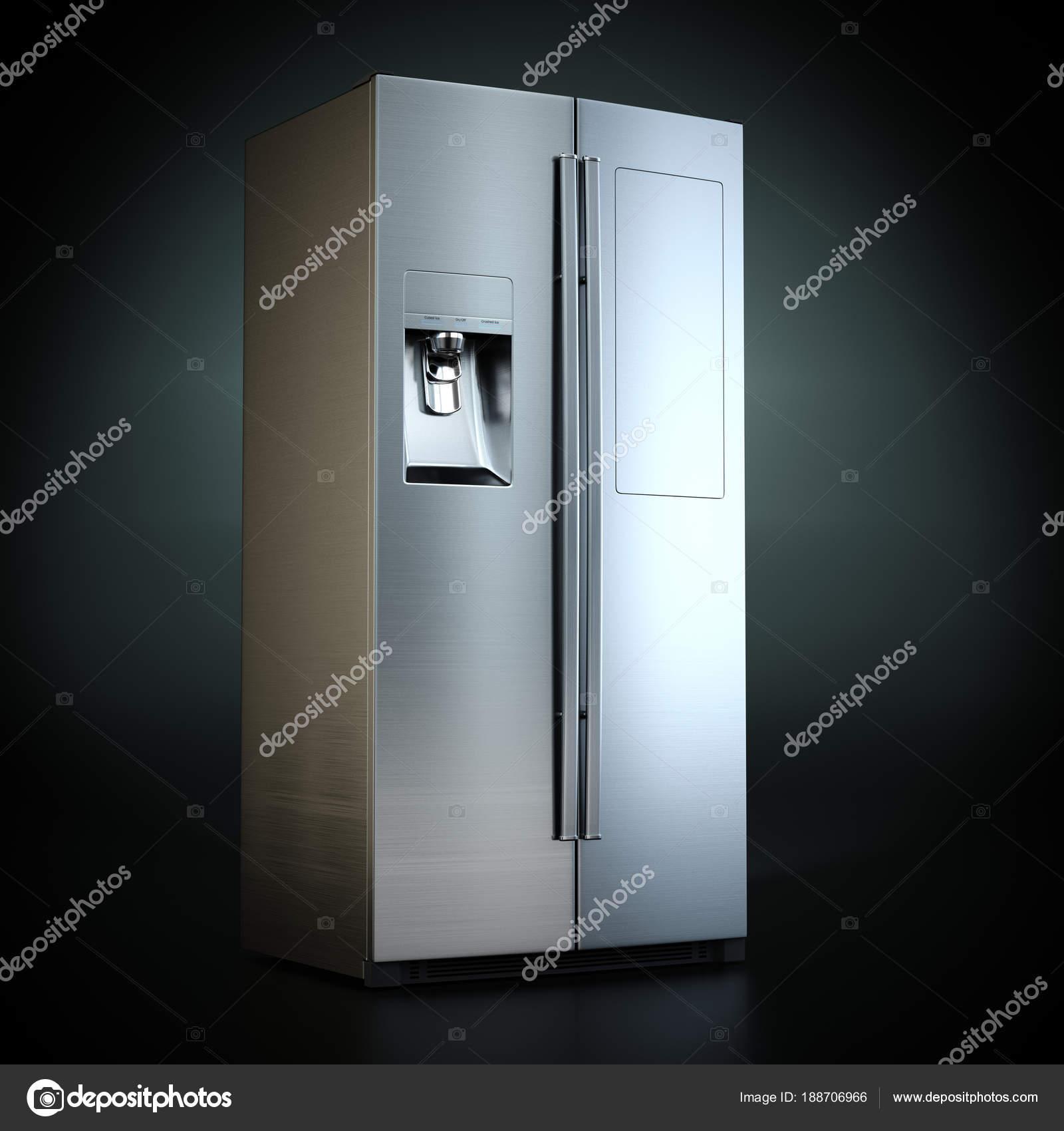 3D Rendering großer Kühlschrank — Stockfoto © apopium #188706966