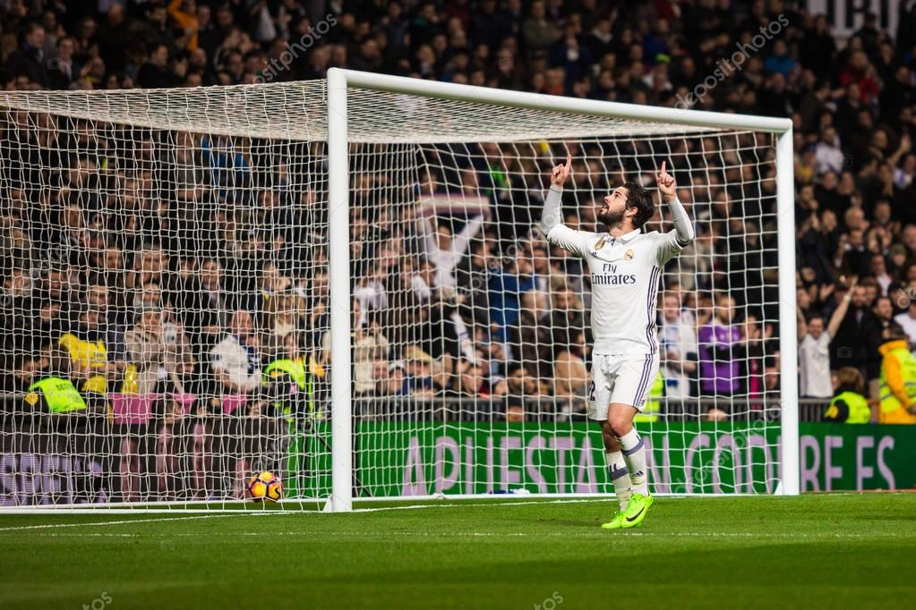 MADRID, SPAIN - MARCH 1: Isco in a match of the spanish soccer l