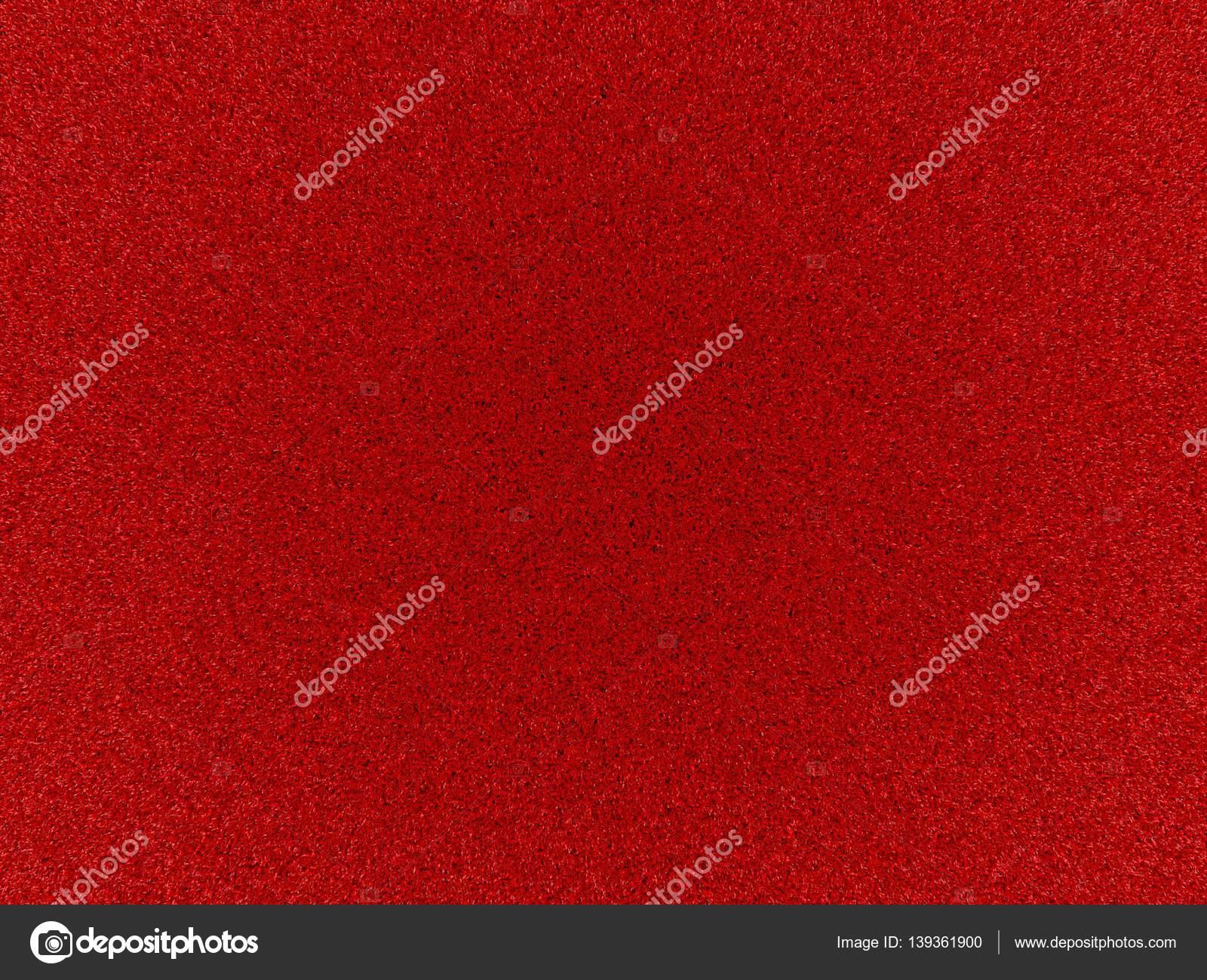 Tapis Rouge Texture Avec Des Fibres Courtes Graphique De L