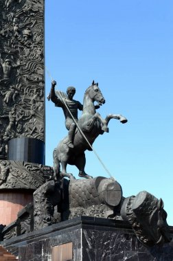 St. George the victorious on Poklonnaya hill.