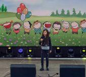 Účastník projektu televize Hlas děti Eva Medved