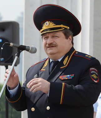 First Deputy Chief of the Main Directorate for Road Traffic Safety of the Ministry of Internal Affairs of the Russian Federation Lieutenant-General Vladimir Shvetsov.
