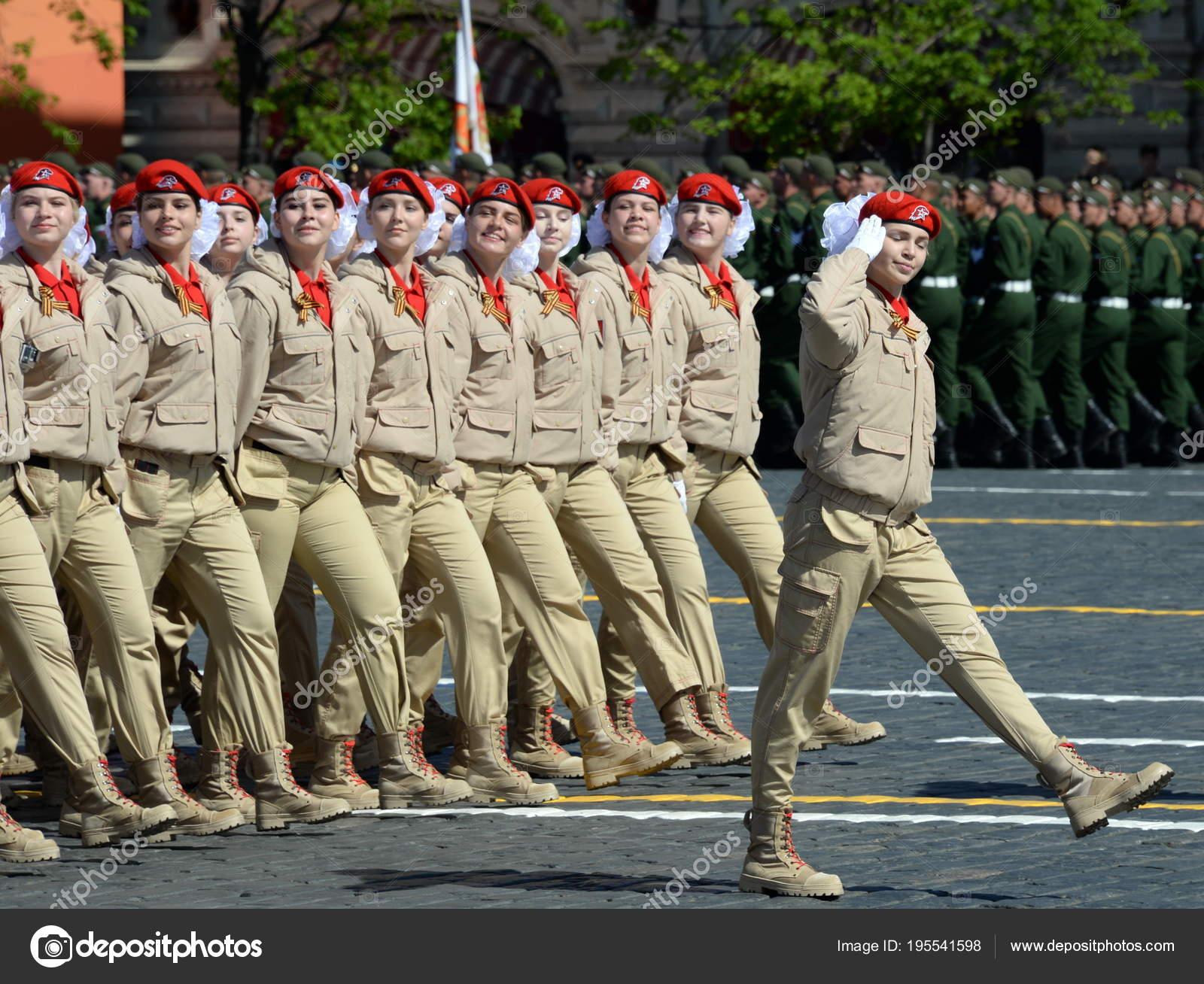 Movimiento patriótico militar de jóvenes guerreros ruso